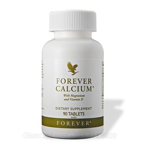 Forever Calcium giải pháp phòng ngừa loãng xương duy trì hệ xương khỏe mạnh