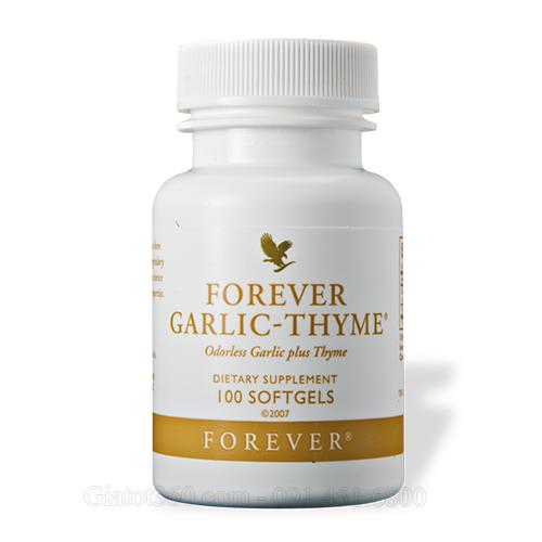 Garlic thyme bổ sung dinh dưỡng hoàn hảo