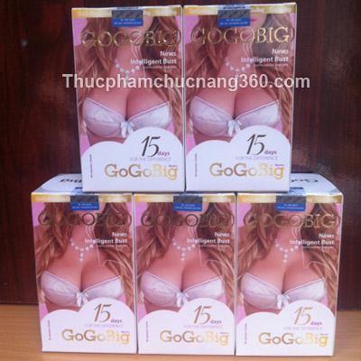 Viên uống nở ngực GOGOBIG new
