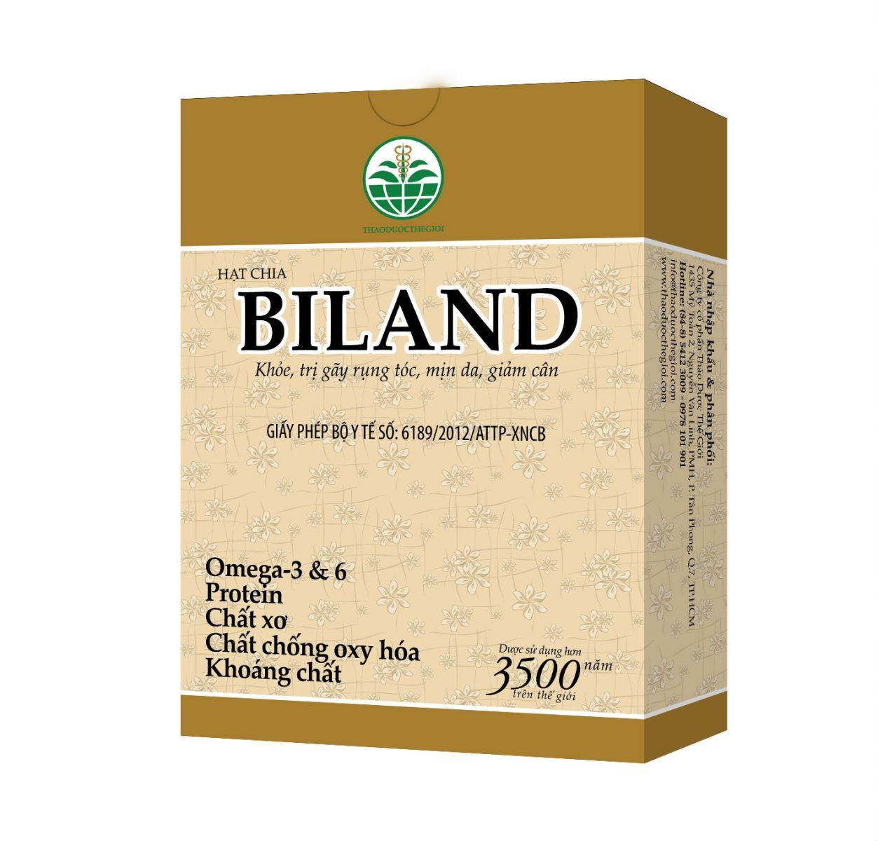 Hạt chia Biland - Cung cấp Omega 3