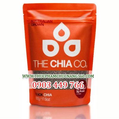 The Chia Co - Hạt Chia đen túi 500g