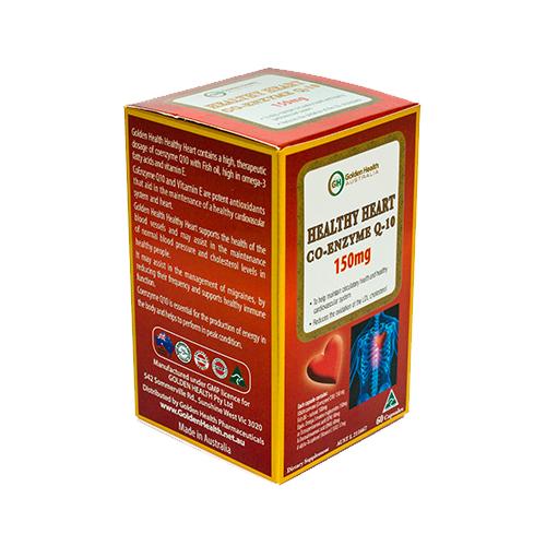 Healthy Heart Co-Enzyme Q-10 150mg - Hỗ trợ tim (60 viên)