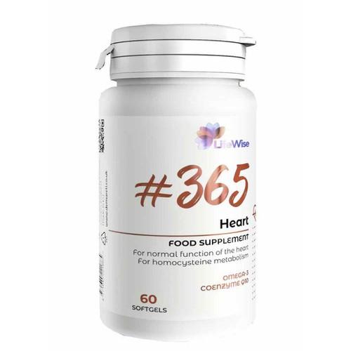 LIFEWISE 365 HEART - Hỗ trợ chức năng tim và mạch máu
