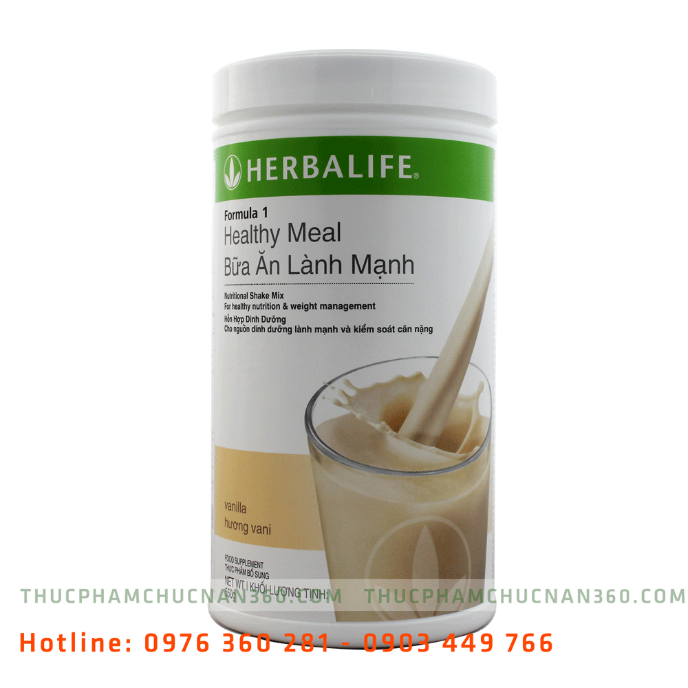 Thực phẩm chức năng herbalife - sữa herbalife F1