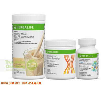 Bộ giảm cân cơ bản herbalife giảm cân