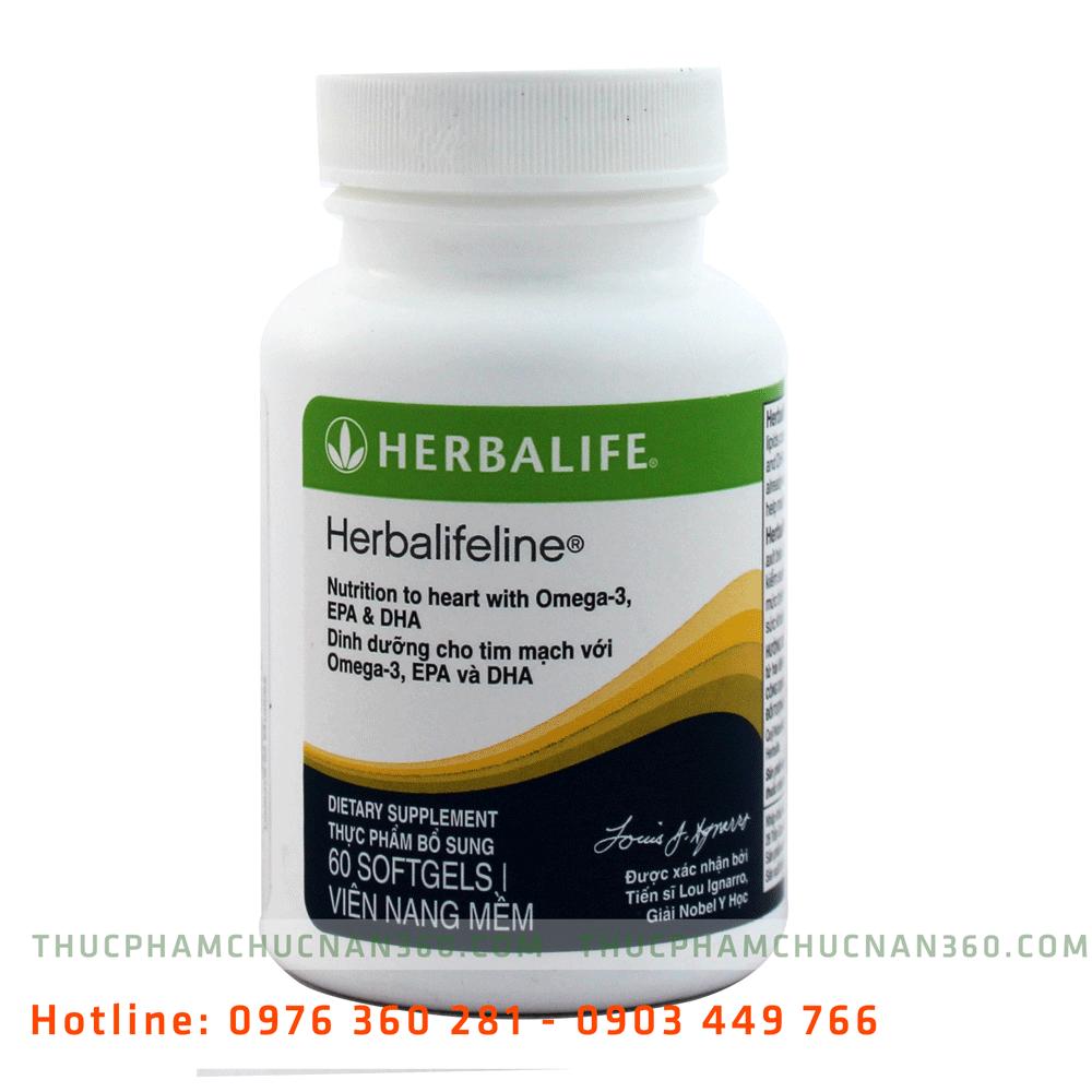 Herbalifeline - omega 3 herbalife, hỗn hợp dầu cá ngừ biển khơi