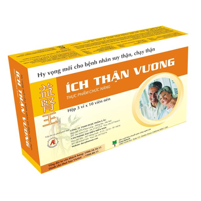 Ích thận vương hỗ trợ sức khỏe người bệnh thận