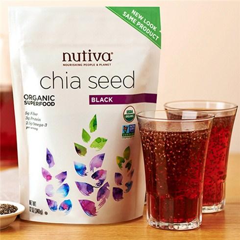 Hạt chia Mỹ Nuvita Chia Seed siêu thực phẩm tốt cho sức khỏe
