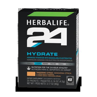 Sản phẩm dinh dưỡng cho vận động viên Herbalife 24 Hydrate Hương cam