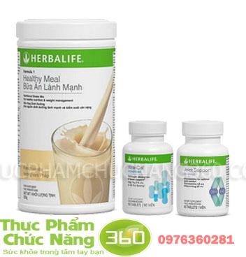 Bộ sản phẩm Herbalife cho xương khớp khỏe mạnh