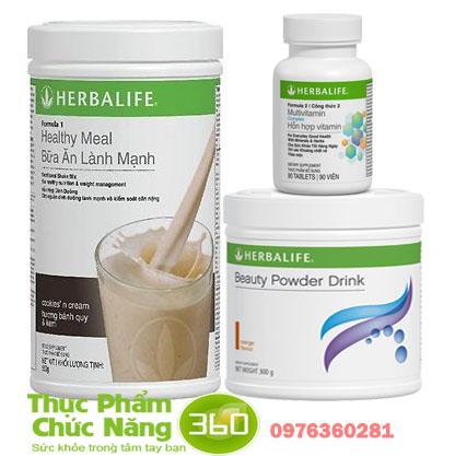 Bộ sản phẩm Herbalife chống lão hóa hiệu quả nhất