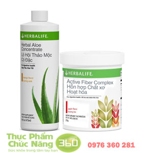 Bộ sản phẩm herbalife hỗ trợ tiêu hóa tốt nhất