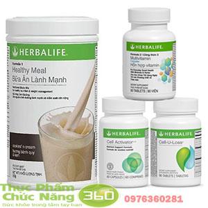 Bộ sản phẩm Herbalife hỗ trợ  cho bệnh nhân ung thư