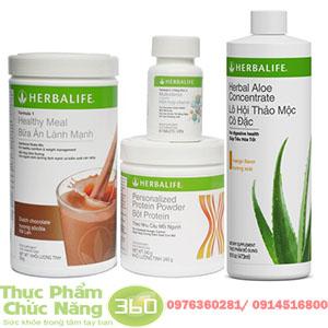 Bộ sản phẩm Herbalife tăng cân hiệu quả
