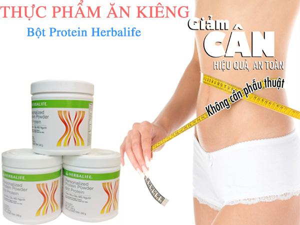 Bột protein Herbalife bí quyết giảm cân hiệu quả an toàn