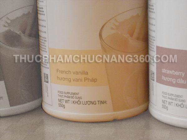 Herbalife F1 hương vị Vani pháp