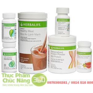 Bộ sản phẩm Herbalife giảm cân tốt nhất