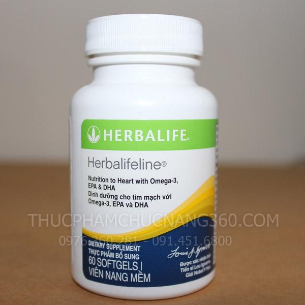 Mặt trước sản phẩm Herbalifeline