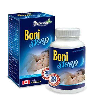 Thực phẩm chức năng Boni Sleep hỗ trợ điều trị mất ngủ