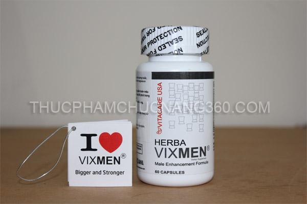 Lọ sản phẩm Herba Vixmen chính hãng 100%