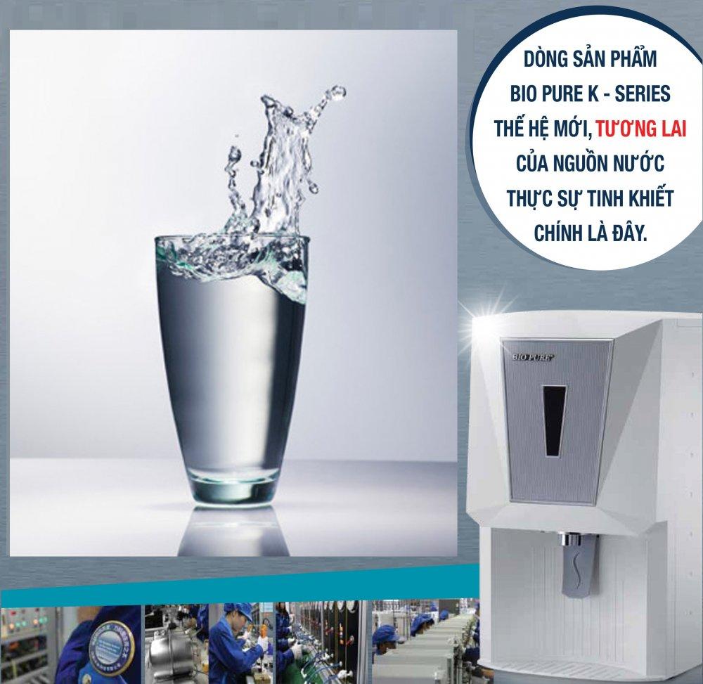 máy lọc nước elken thế hệ mới bio pure k-series
