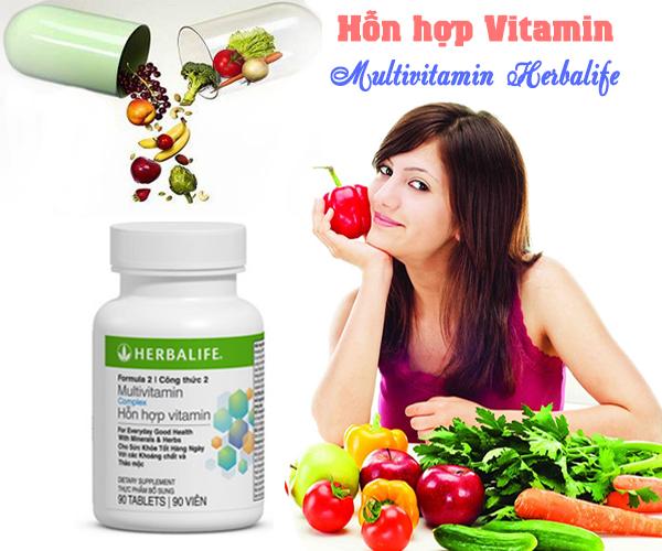 Kết quả hình ảnh cho Herbalife - Hỗn hợp vitamin công thức 2