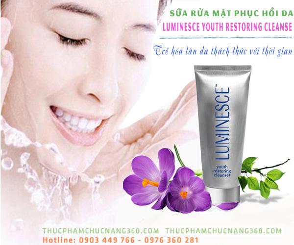 Sữa rửa mặt tế bào gốc Jeunesse  Luminesce chính hãng giá rẻ nhất thị trường