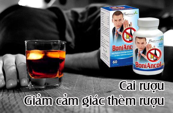 Loại thuốc Boniancol giúp cai nghiện rượu bia an toàn và hiệu quả nhất