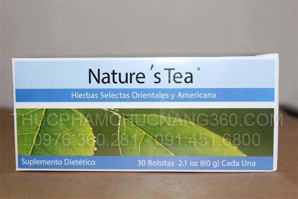 Mặt trước sản phẩm trà thải độc ruột unicity