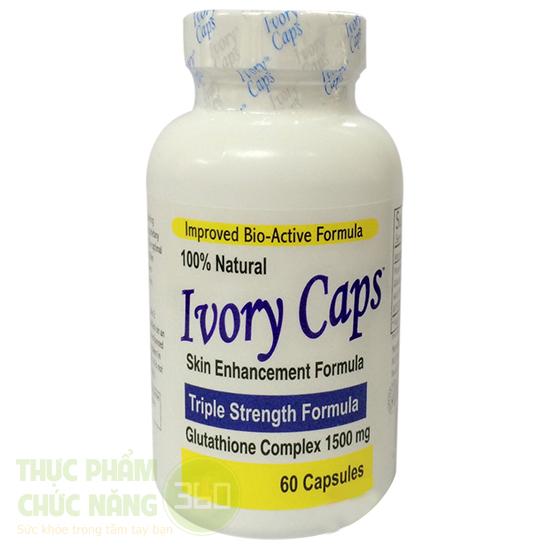 Ivory Caps viên uống làm trắng da từ mỹ