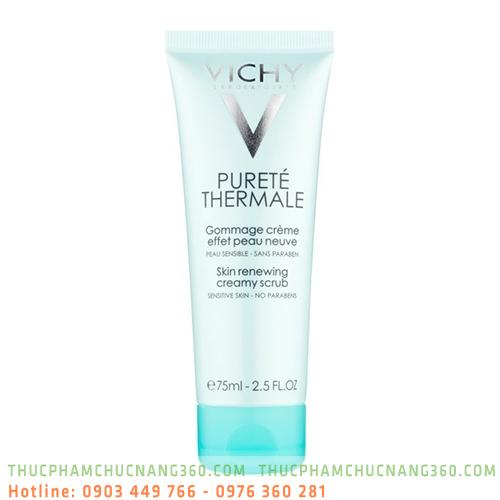 Kem Tẩy Tế Bào Chết Cho Da Thường, Da Hỗn Hợp Và Da Nhạy Cảm Vichy Purete Thermale 75ml