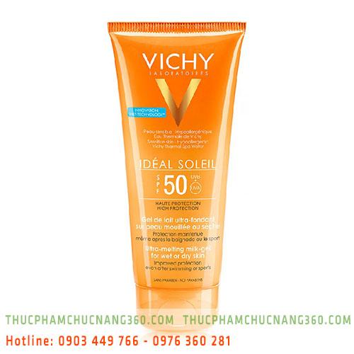 Kem chống nắng toàn thân dạng gel sữa không gây nhờn rít SPF 50