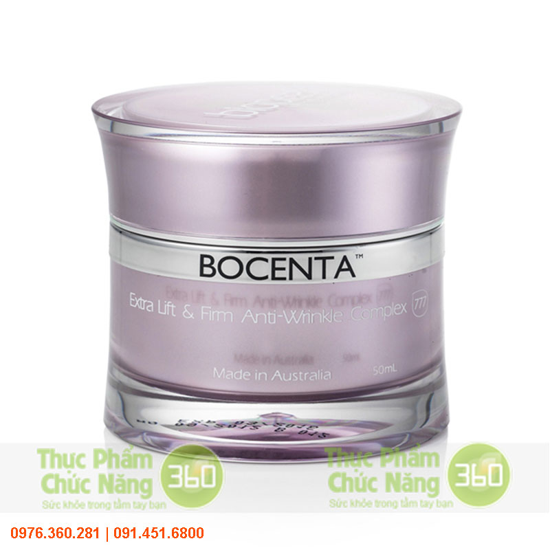 Kem chống nhăn da, nâng cơ Bocenta - Lanopearl
