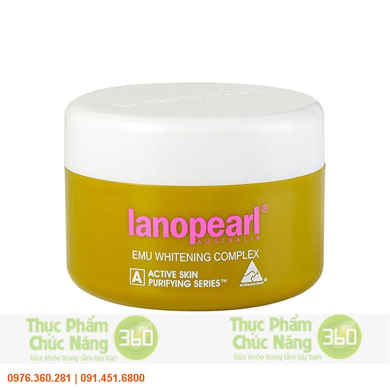 Kem trắng da ban đêm chiết suất tinh dầu đà điểu - Lanopearl