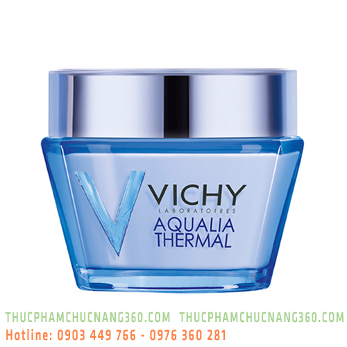 Gel dưỡng ẩm giúp da dịu mát dành cho da thường, hỗn hợp và nhạy cảm Vichy Aqualia Thermal Mineral W