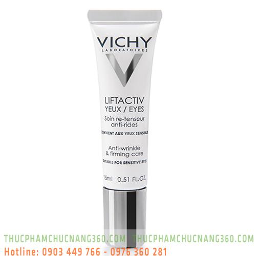 Kem dưỡng xóa nếp nhăn và nâng mí mắt Vichy LiftActiv