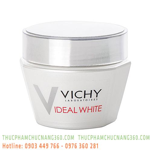 Kem Dưỡng Trắng Da Và Giảm Thâm Nám Ban Ngày Vichy Ideal White Whitening Replumping Gel Cream 50ml