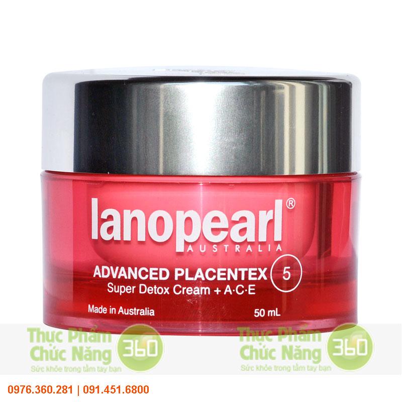 Kem giải độc và trị tàn nhang và chứa vitamin A,C,E - Lanopearl