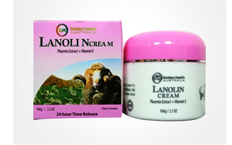 Kem mỡ cừu Golden Health Lanolin Cream