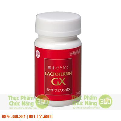 Lactoferrin GX giảm mỡ bụng tốt nhất