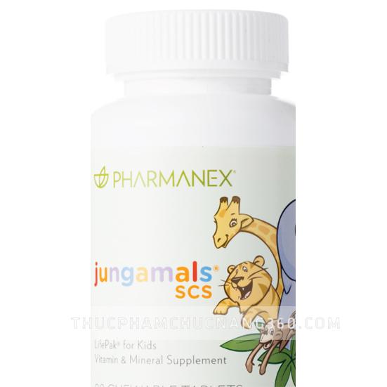 Nuskin Jungamals SCS giúp trẻ phát triển khỏe mạnh