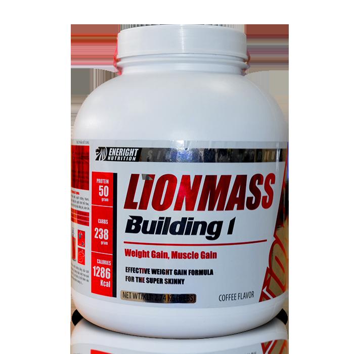 Sữa tăng cân Lion Mass Building 1 - 6Lbs 2,74kg - Tăng cân, tăng cơ hiệu quả