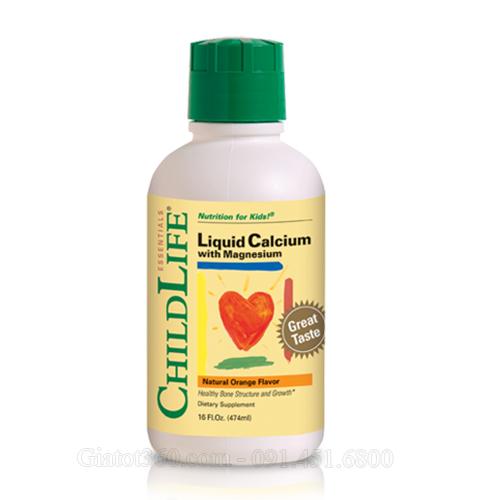 ChildLife Liquid Calcium with Magnesium bí quyết cho bé yêu chắc khỏe và cao lớn