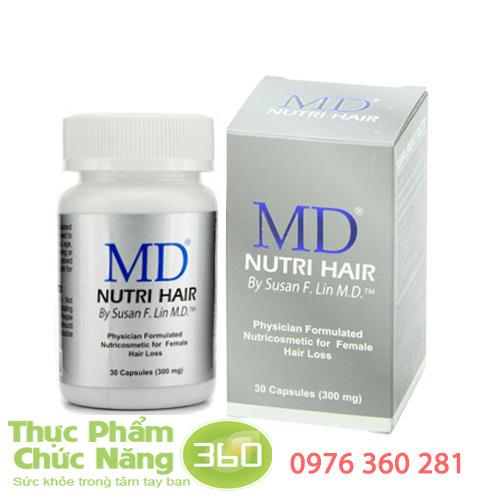 Viên uống mọc tóc MD Nutri Hair bí quyết trị hói đầu hiệu quả