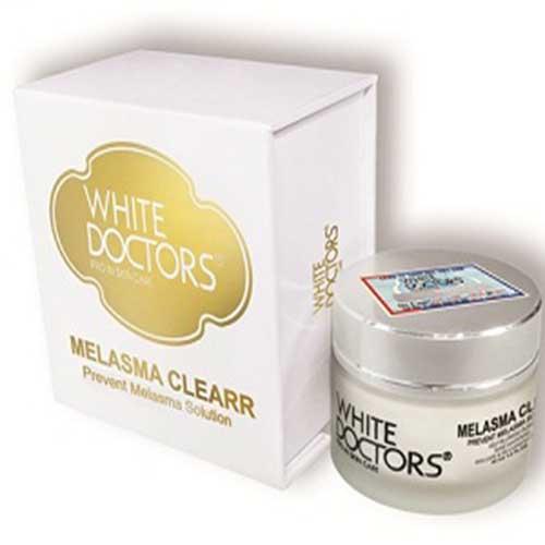 White Doctors Melasma Clearr hỗ trợ nám, sạm da tổn thương da thể nhẹ