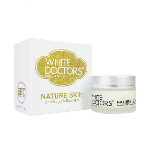 White Doctors Nature Skin Kem chống dị ứng mỹ phẩm
