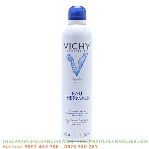 Xịt khoáng Vichy dưỡng ẩm làm mềm da