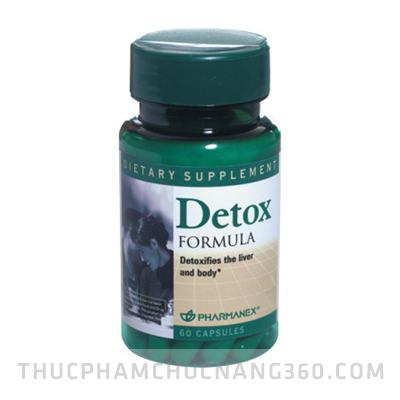 Nuskin Detox Formula - Thải độc, hồi phục chức năng gan, bảo vệ tế bào gan