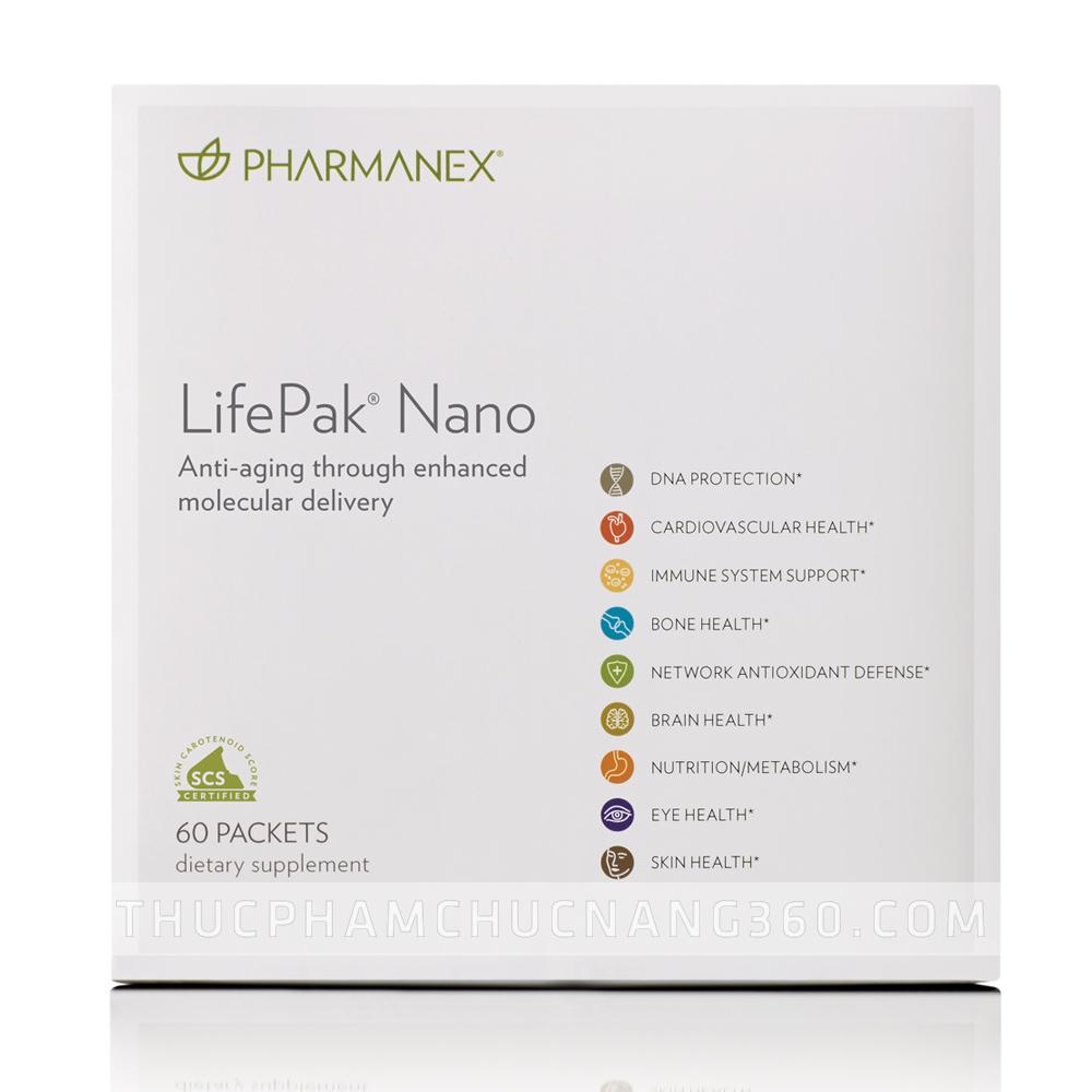 LifePak Nano Nuskin - bổ sung đầy đủ vitamin và khoáng chất