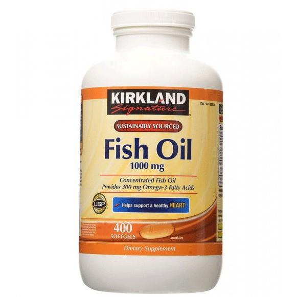 Dầu cá fish oil omega - 3 Kirkland